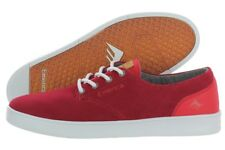 Emerica The Romero Laced 6102000089-600 Red Suede Skate Shoes Medium (D, M) Mens