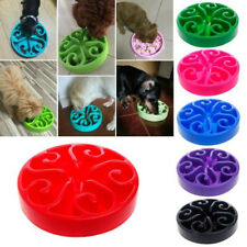 Feed Dish Dog Cat 1 Pcs Bowl Water Bowl Puppy Pet Bloat Hot Slow Feeder