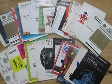 An Interesting Selection of Theatre Programmes from 1960's,