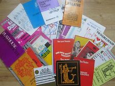 Large & Interesting Selection of Theatre Programmes from the 1970's