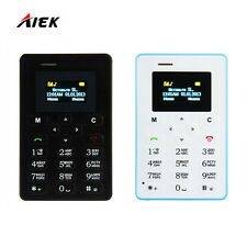 M5 Card Cell Phone 4.5mm Ultra Thin Pocket Mini Phone Low Radiation mobile Phone