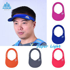 New Visor Sun Plain Hat Light Sports Cap Golf Tennis Running Adjustable Marathon