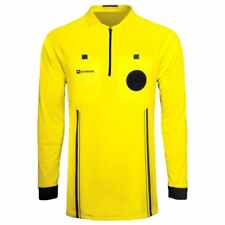 Soccer Referee Jersey Long Sleeve (Yellow)