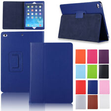 Luxury PU Leather Folio Stand Full Protector Case Cover For Apple iPad Tablet