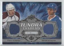 2008-09 Upper Deck Artifacts #TT-PP Paul Stastny Peter Colorado Avalanche Card