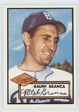 1983 Topps 1952 Reprint Series #274 Ralph Branca Brooklyn Dodgers Baseball Card