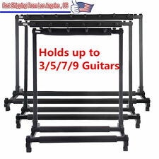 Guitar Stand 9 7 5 3 Holder Guitar Folding Stand Rack Band Stage Bass Acoustic S