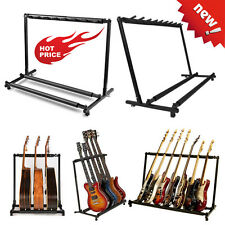 Guitar Stand 9 7 5 3 1Holder Guitar Folding Stand Rack Band Bass Acoustic USA SE