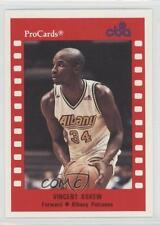 1990 ProCards CBA 155 Vincent Askew Albany Patroons (CBA) Rookie Basketball Card