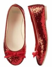 NWT Gymboree Girl Holiday Shop Red Glitter Shoes Dorothy Wizard Of Oz  9 3