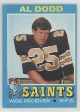 1971 Topps #146 Al Dodd New Orleans Saints Football Card