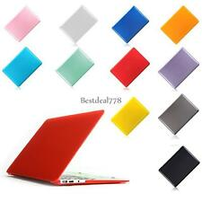"""New Good Crystal Hard Shell Case Cover For Mac Book Pro 15"""" 11 Colors BTL8"""