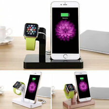 Desktop Charging Dock Stand Station Charger Holder Kit For Apple Watch/iPhone G