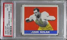 1948 Leaf #40 John Nolan PSA 4 Boston Yanks Rookie Football Card