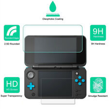 New LCD 9H HD Tempered Glass Protector Screen Film Cover For Nintendo 2DS XL Lot