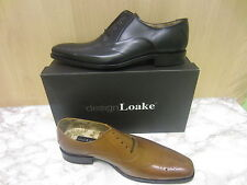 Mens Loake Lace Up Brogue Shoe, Leather, Available In 2 Colours, Gunny