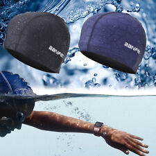 New Elastic Silicone Swimming Swim Cap Hair Protection Hat Bathing Hat Ears  new