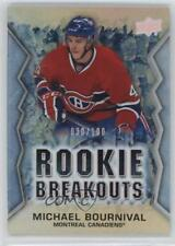 2013 Upper Deck Rookie Breakouts #RB19 Michael Bournival Montreal Canadiens Card