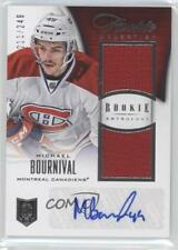 2013-14 Panini Rookie Anthology #158 Michael Bournival Montreal Canadiens Card