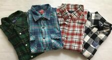 New Flannel 100% Cotton Long Sleeve Plaids&Checks Men's Casual Shirts-Choice