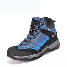 Women Mens Big Size Hiking Boots Athletic Waterproof Outdoor Shock Absorb Shoes