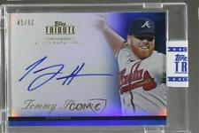2012 Topps Tribute Autograph Blue Autographed #TA-TH2 Tommy Hanson Auto Card