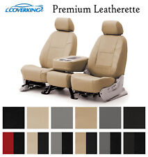 Coverking Custom Seat Covers Premium Leatherette - Choose Color And Rows