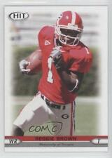 2005 SAGE Hit #26 Reggie Brown Georgia Bulldogs Rookie Football Card