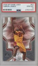 2009-10 SP Game Used #57 Lebron James PSA 10 Cleveland Cavaliers Basketball Card