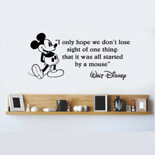 Disney Mickey Mouse I Only Hope We Don't vinyl wall art decal sticker quote