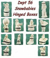 Dept 56 Snowbabies - Small Trinket - Hinged Boxes - Your Choice - NEW In Box