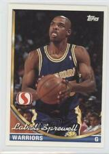 1993-94 Topps Safeway Golden State Warriors GS7 Latrell Sprewell Basketball Card