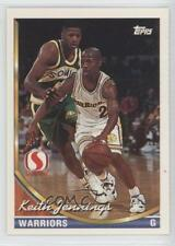 1993-94 Topps Safeway Golden State Warriors #GS13 Keith Jennings Basketball Card