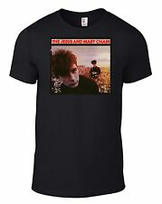 JESUS AND MARY CHAIN Upside Down T-SHIRT darklands Psychocandy smiths cure CD B