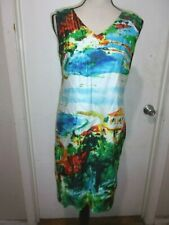 LAST CHANCE! New discontinued North Style Women's landscape sleeveless dresses