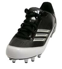 Adidas AS SMU Scorch X Fly Low NC Mens Football Cleat Black White Shoes