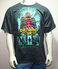 DR DOCTOR WHO and the DALEKS POSTER DALEK ROBOT TARDIS MENS T-Shirt Tee XL-2X