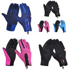 Fleece Skiing Sports Gloves Riding All Gloves Windproof Touch Screen Glove
