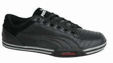 Puma 65CC Lo Ducati Lace Up Black Mens Leather Trainers 303421 01 D60