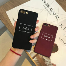 Shockproof Couple's Slim Hard Back Pattern Case Cover For Apple iPhone 6s 7 Plus