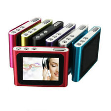 "1.8"" LCD Screen Mini Clip Mp3 Player Metal body Support FM Radio Up To 32GB Card"