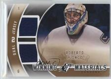 2011-12 SPx Winning Materials WM-RL Roberto Luongo Vancouver Canucks Hockey Card
