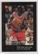 1999-00 Upper Deck Career Box Set Base #30 Michael Jordan Chicago Bulls Card