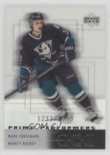 2000-01 Upper Deck Ice #81 Marc Chouinard Anaheim Ducks (Mighty of Anaheim) Card