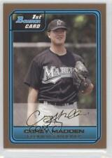 2006 Bowman Draft Picks & Prospects Gold #DP39 Corey Madden Miami Marlins Card