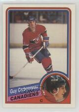 1984-85 O-Pee-Chee #257 Guy Carbonneau Montreal Canadiens Hockey Card