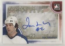 2012-13 In the Game Forever Rivals Series Autographs A-IT Ian Turnbull Auto Card