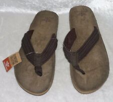 Dockers Mens Flip Flops Man made Sandals Slip On size XL NEW