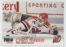 1992-93 Pro Set #97 Chris Terreri New Jersey Devils Hockey Card