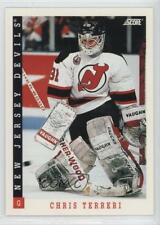 1993-94 Score Canadian #237 Chris Terreri New Jersey Devils Hockey Card